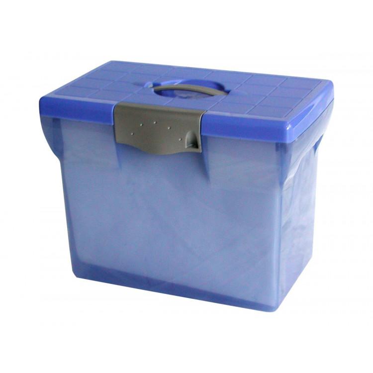 Valise de classement en Polypropylène avec 5 fichiers suspendus
