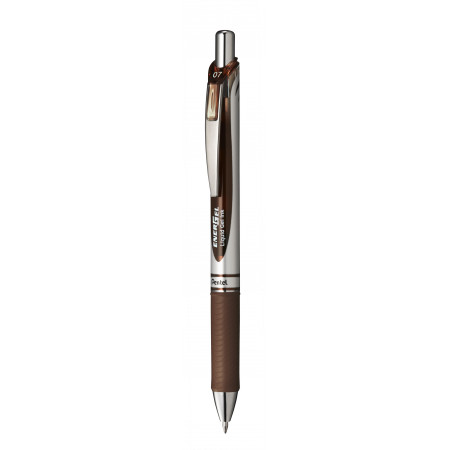 STYLO ENERGEL RETRACTABLE MARRON