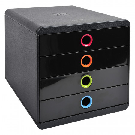 POP-BOX Iderama noir/arlequin
