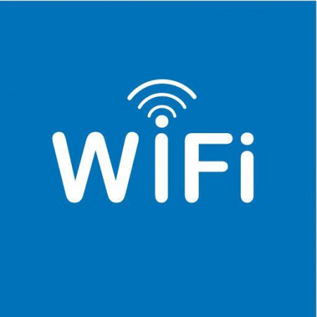 PICTOGRAMME ZONE WIFI - 1 Feuille