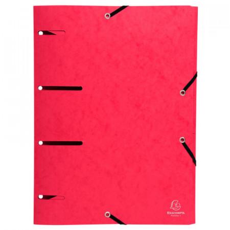 Chemise à élast.PUNCHY+ CL 375g/m² Rouge