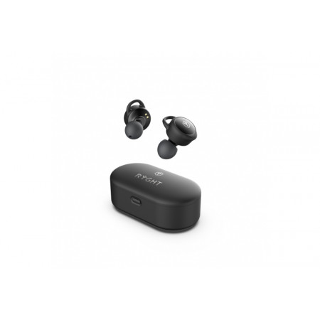 RYGHT - TWINS - ÉCOUTEURS BLUETOOTH IN-EARS - NOIR