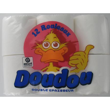Papier Toilette 12 rouleaux Doudou