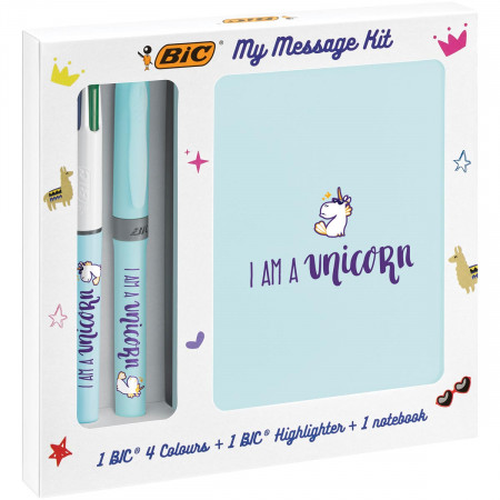 BIC My Message Kit Unicorn