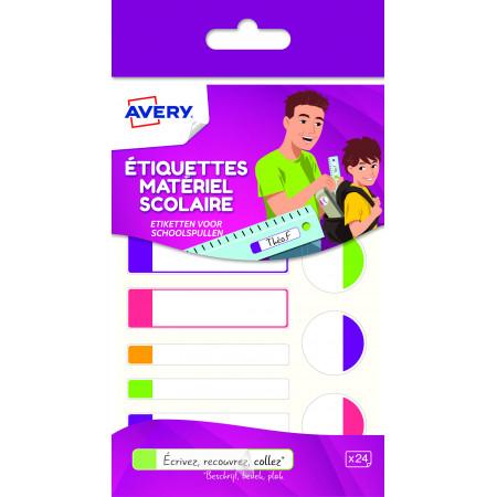 ETIQUETTES X24 PLASTTIFIEES