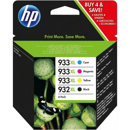 PACK HP932/933 4 COULEURS XL