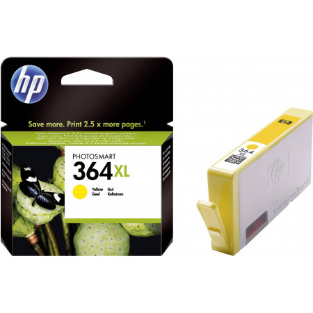 CARTOUCHE HP 364 XL JAUNE