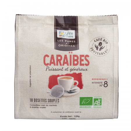 DOSETTE CAFE CARAIBES X 18