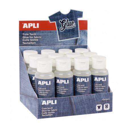 Colle spéciale textile 80 ml - APLI