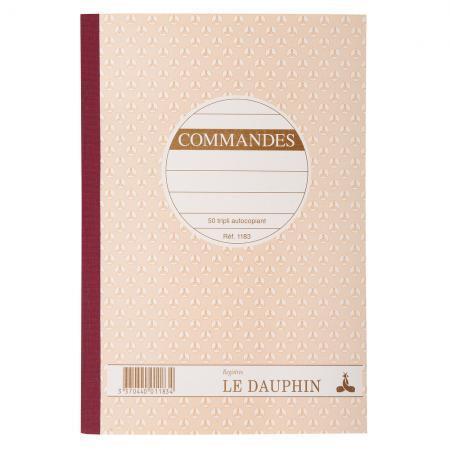 MANIFOLD COMMANDES 14,8X21, 50 TRIPLI AUTOCOPIANTS