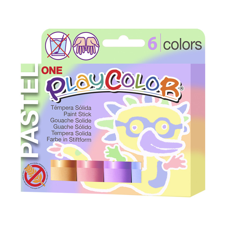 Gouache solide PLAYCOLOR PASTEL