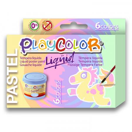 Gouache liquide PLAYCOLOR PASTEL