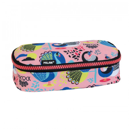TROUSSE OVALE PEACOCK ROSE