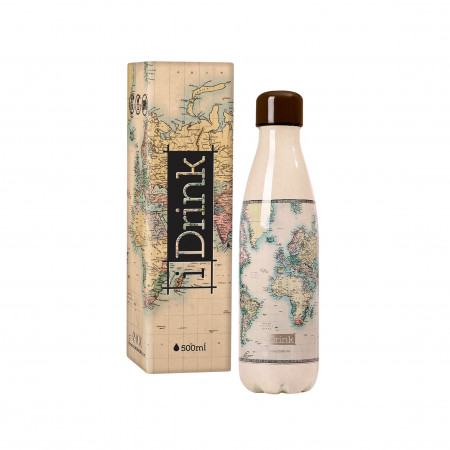 BOUTEILLE THERMIQUE 500ML MAP