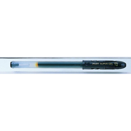 ROLLER ENCRE GEL - SUPER GEL - 0,7mm - EPAISSEUR DE TRAIT - NOIR