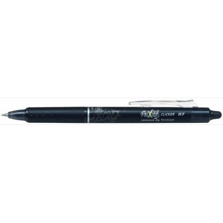FRIXION BALL CLICKER - 0,7mm - EPAISSEUR DE TRAIT - noir