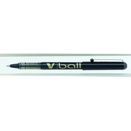 STYLO ROLLER ENCRE LIQUIDE - VBALL 0,7 - 0,7mm - EPAISSEUR DE TRAIT - NOIR