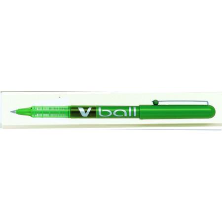 STYLO ROLLER ENCRE LIQUIDE - VBALL 0,5 - 0,5mm - EPAISSEUR DE TRAIT - VERT