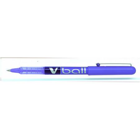 STYLO ROLLER ENCRE LIQUIDE - VBALL 0,5 - 0,5mm - EPAISSEUR DE TRAIT - VIOLET