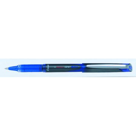 STYLO ROLLER ENCRE LIQUIDE - VBALL GRIP 1,0 - 1,0mm - EPAISSEUR DE TRAIT - BLEU