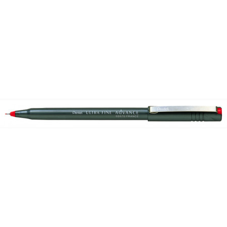 FEUTRES - STYLO PENTEL SD570 - 0,3mm - EPAISSEUR DE TRAIT - ROUGE