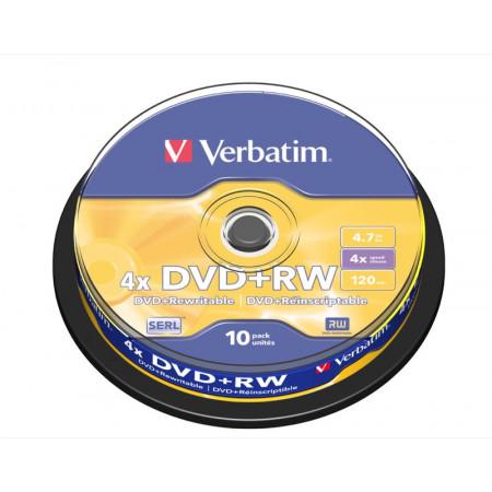 DVD + RW 4.7GB UNITÉ