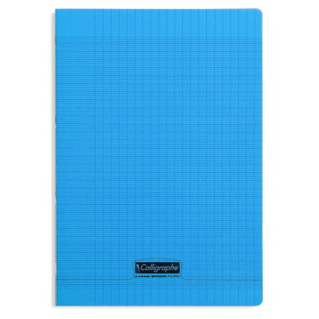 CAHIER POLYPRO, Format A4, Grands Carreaux, 21X29.7 - 96 PAGES SEYES BLEU