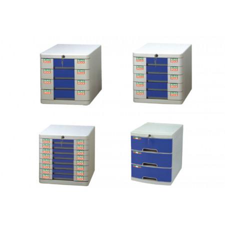 BURO'BOX 8 TIROIRS A CLEF
