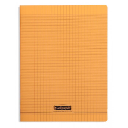 CAHIER POLYPRO 24X32 96P SEYES ORANGE
