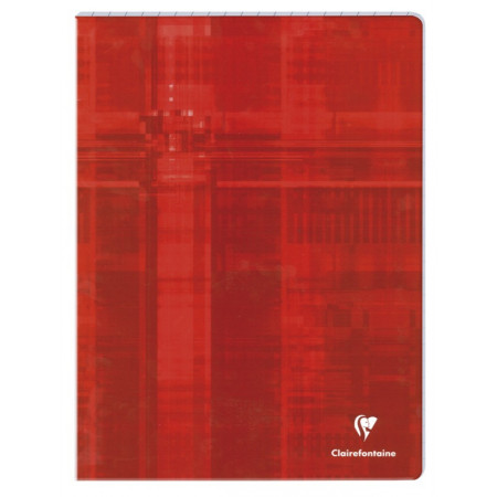 CAHIER PIQÛRE, Grand Format, Grands Carreaux, 24X32 - 96 PAGES SEYES CLAIREFONTAINE