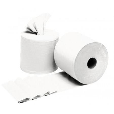 Bobine à dévidage 450F blanc 2 plis