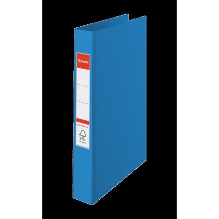 CLASSEUR RIGIDE RELIURE 4 ANNEAUX, Format A4, 21X29.7, Dos 35MM - BLEU