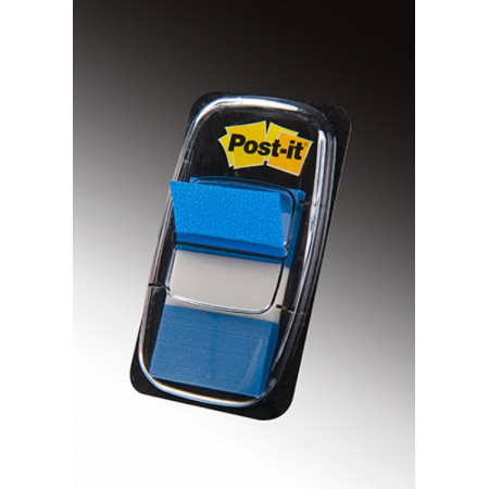 MARQUE PAGE POST IT 25*44MM BLEU