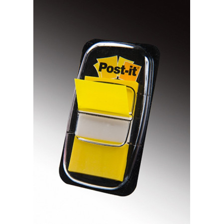 MARQUE PAGE POST IT 25*44MM JAUNE