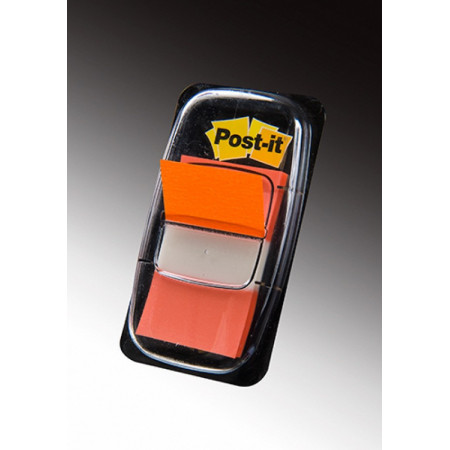 MARQUE PAGE POST IT 25*44MM ORANGE