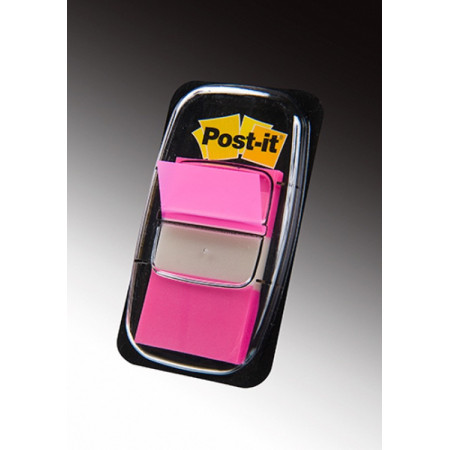 MARQUE PAGE POST IT 25*44MM ROSE VIF
