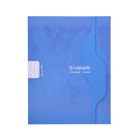 CAHIER PIQÛRE, Petit Format, Grands Carreaux, 17*22 48 PAGES SEYES
