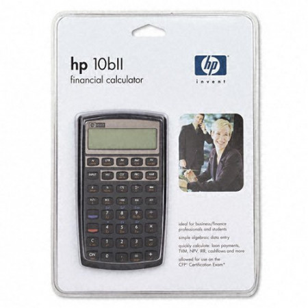 CALCULATRICE FINANCIERE HP 10BII+