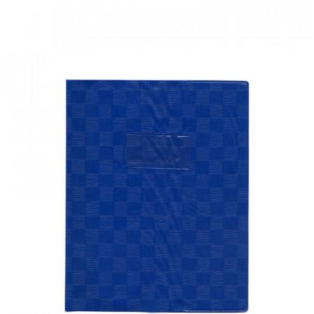 PROTEGE CAHIER, Petit Format, 17X22 BLEU