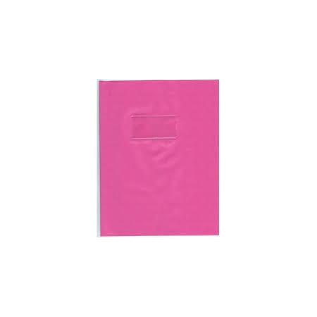 PROTEGE CAHIER, Petit Format, 17X22 ROSE