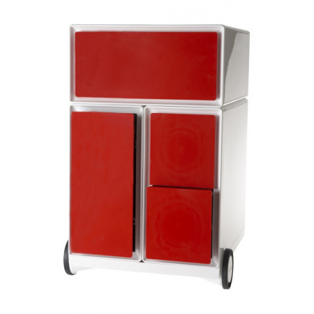 CAISSON DESIGN EASYBOX : ROUGE