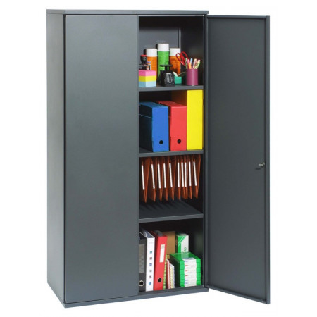 ARMOIRE METAL PORTE BATTANTE : ANTHRACITE
